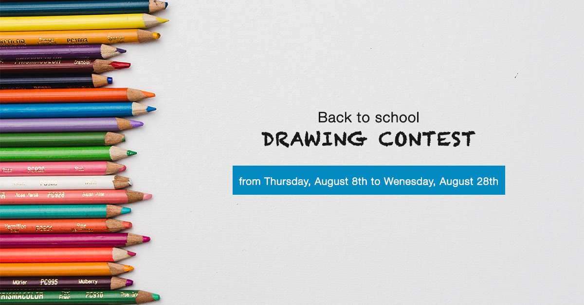 Back to school drawing contest