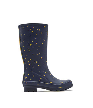 Joules Roll Up Wellies Star Gazing