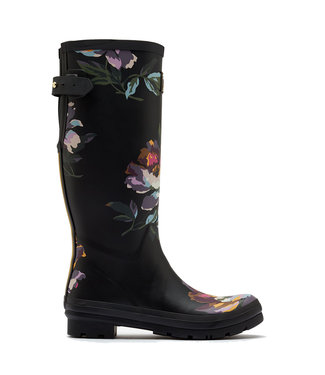 Joules Joules Welly Print  Noir Floral