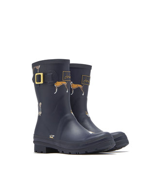 Joules Joules Molly Welly Navy Habour Dogs