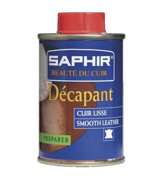 Saphir Décapant Cuir Lisse 100ml