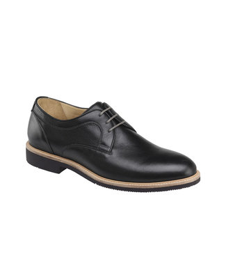 Johnston & Murphy Johnston & Murphy Barlow Plain Toe Black
