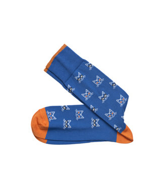 Johnston & Murphy Johnston & Murphy Socks Cool Cat Blue