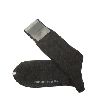 Johnston & Murphy Johnston & Murphy Wool Ribbed Bas Charbon