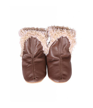 Robeez Robeez Classic Booties Brown