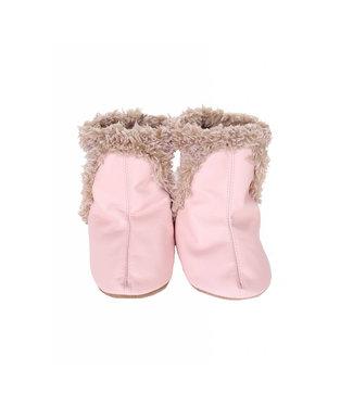 Robeez Classic Booties Pink