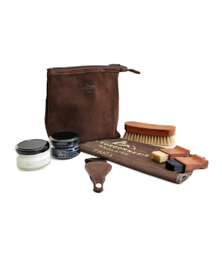 Saphir La Cordonnerie Anglaise Biarritz Travel Shoe Care Kit
