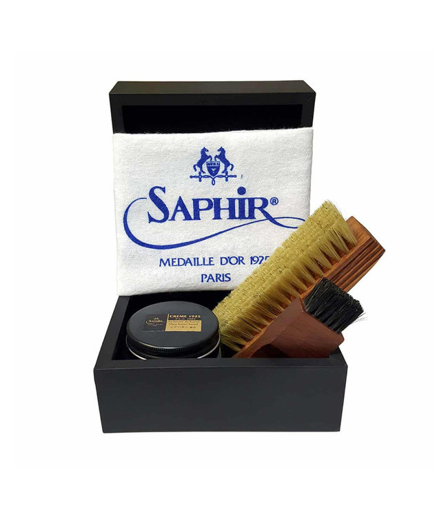 Saphir Saphir Médaille d'Or ''Ecrin'' Luxury Leather Care Set