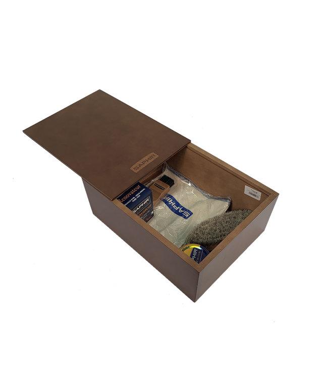 Saphir Saphir Sliding Cover Box Beech Wood