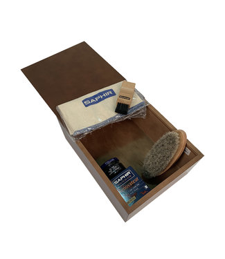 Saphir Sliding Cover Box Beech Wood