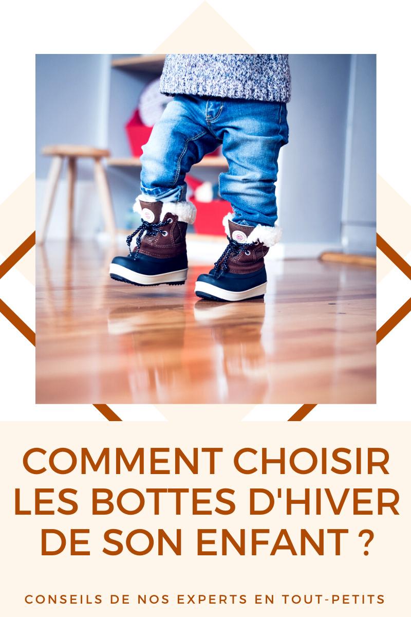 Comment choisir les bottes d'hiver de  son enfant ?