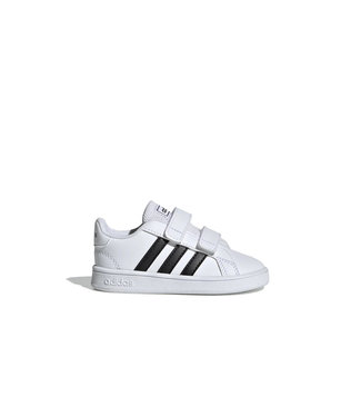 Adidas Adidas Grand Court Toddler White & Black