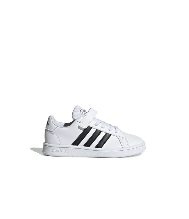 Adidas Adidas Grand Court Jeunes Blanc & Noir