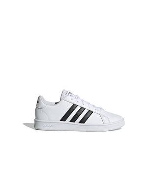 Adidas Adidas Grand Court Juniors Blanc & Noir