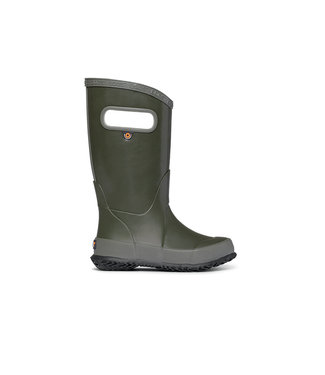 Bogs Rainboot Solid Dark Green