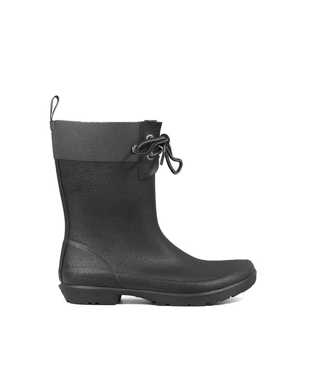 Bogs Bogs Flora 2-Eye Boot Black