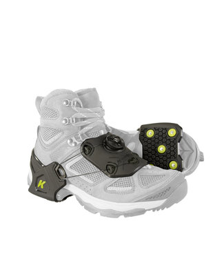 Korkers Ice Commuter Ice Cleats Black & Green