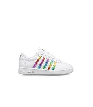 KSwiss Classic Pro White & Rainbow