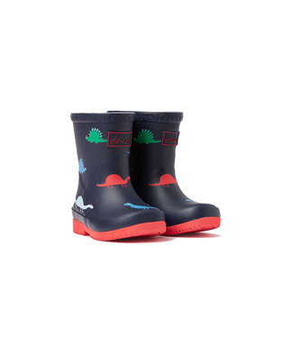 Joules Joules Baby Welly Print Navy Dino