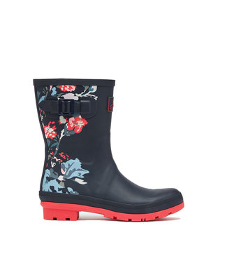 Joules Molly Wellies Navy Floral