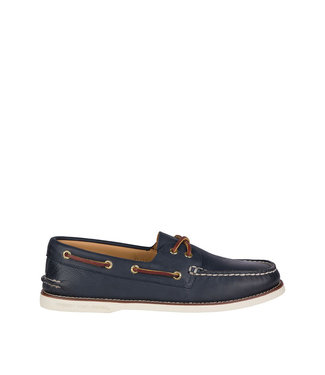 Sperry Authentic Original Gold 2-Eye Navy