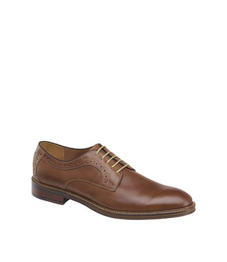 Johnston & Murphy Warner Plain Toe Tan