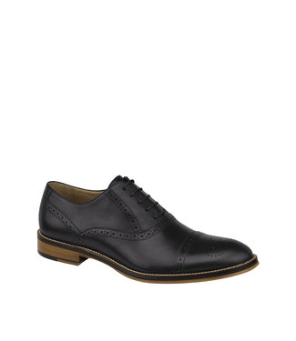 Johnston & Murphy Johnston & Murphy Conard Cap Toe Black
