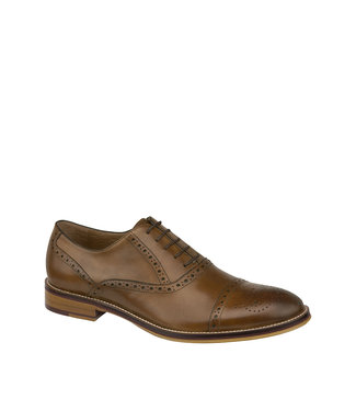 Johnston & Murphy Johnston & Murphy Conard Cap Toe Tan