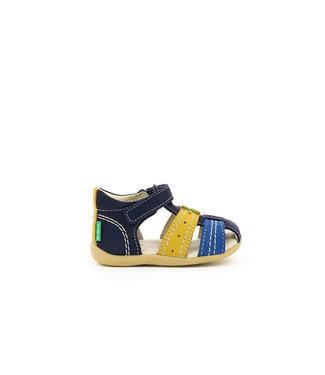 Kickers Kickers Bigbazar Blue & Yellow