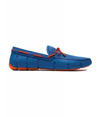 Swims SWIMS BRAIDED LACE LOAFER BLEU&ORANGE