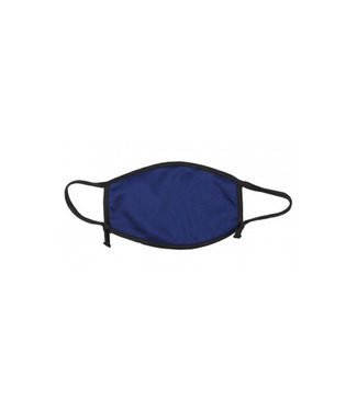 WASHABLE MASK 100% NAVY BLEU COTTON  2 LAYERS