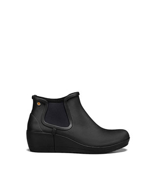 Bogs Vista Wedge Ankle Black