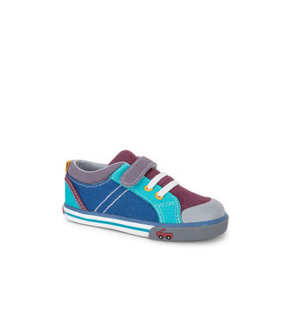 See Kai Run Tanner Burgundy / Blue