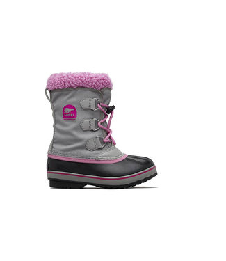 Sorel Sorel Yoot Pac Nylon Chrome Grey & Orchid
