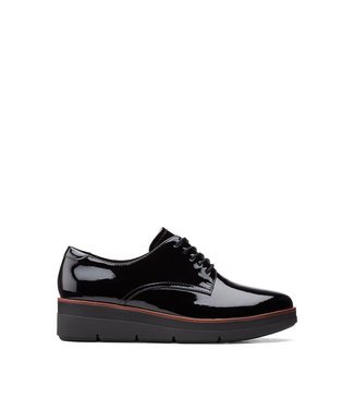 Clarks Clarks Shaylin Lace Black Patent