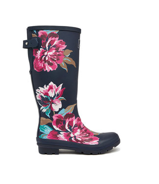 Joules Joules Welly Print Navy Floral