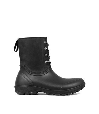 Bogs Sauvie Snow Leather Black