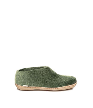 Glerups Glerups Shoes Leather Sole Forest Green