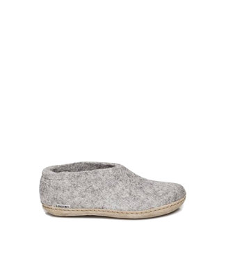 Glerups Glerups Shoe Leather Sole Grey