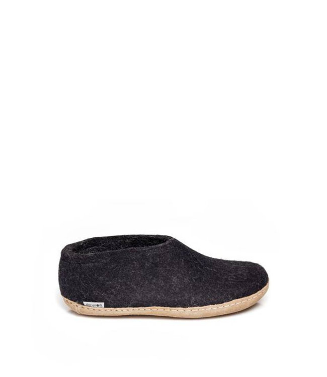 Glerups Shoes Leather Sole Black