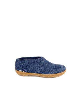 Glerups Glerups Shoes Rubber Sole Blue Denim