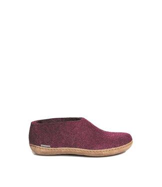 Glerups Glerups Shoe Leather Sole Cranberry