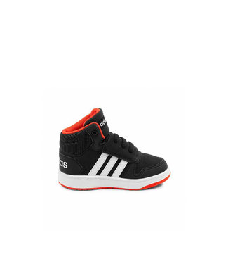 Adidas Adidas Hoops Mid Black & Red