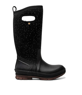 Bogs Crandall Tall Speckle Black