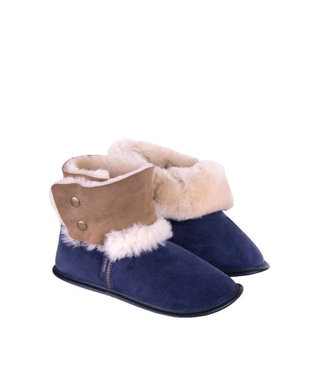 Garneau Reversed Sheepskin Bootie Navy