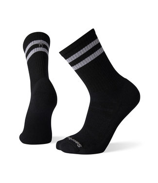 Smartwool Smartwool Athletic Light Elite Stripe Crew Black