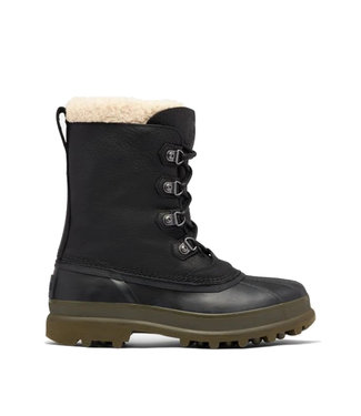 Sorel Caribou Stack WP Black