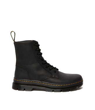 Dr. Martens Combs Leather Wyoming Black