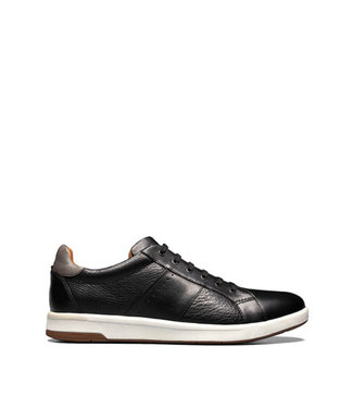 Florsheim Crossover Lace to Toe Black