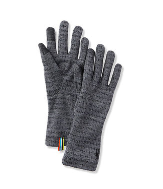 Smartwool Women's Merino 250 Pattern Glove Medium Grey